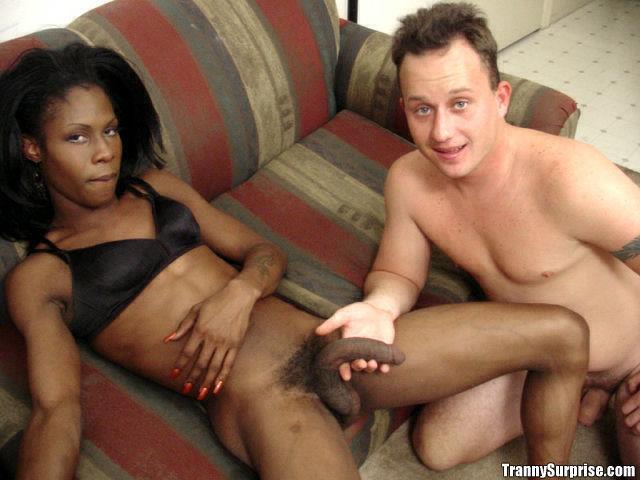 Beautiful Ebony Femboy Destiny Giving A Blowjob And Enjoying Some Anal