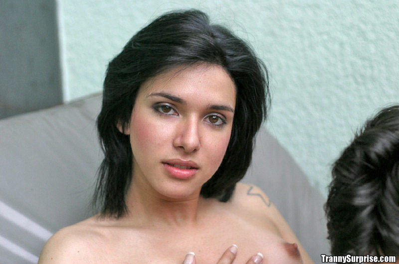 Beautiful Latina Tgirl Vianca Getting Her Massive Raw Tool Sucked