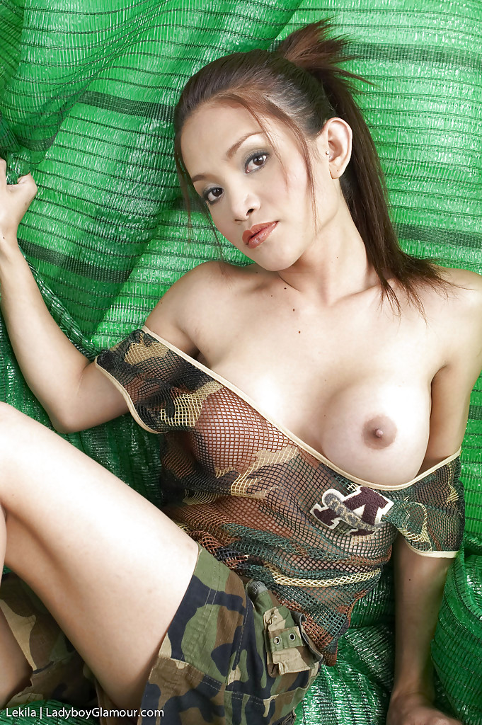 Busty Asian T-Girl Lekila Is A Cute Young Thing With Splendid Boobs