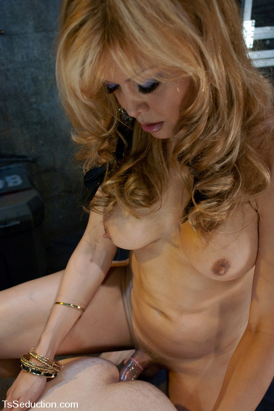 Busty Blonde Tgirl Johanna B Eating Cock Penis And Ass-Hole Nailing Hardcore