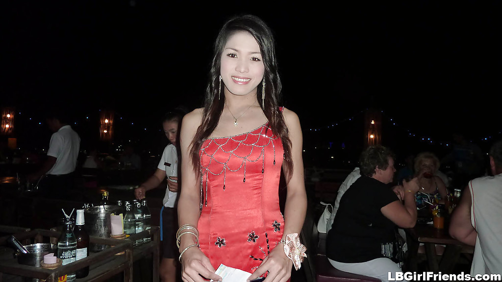 Cute And Gorgeous Asian Trannies Posing Outdoors In Skirts And Dresses