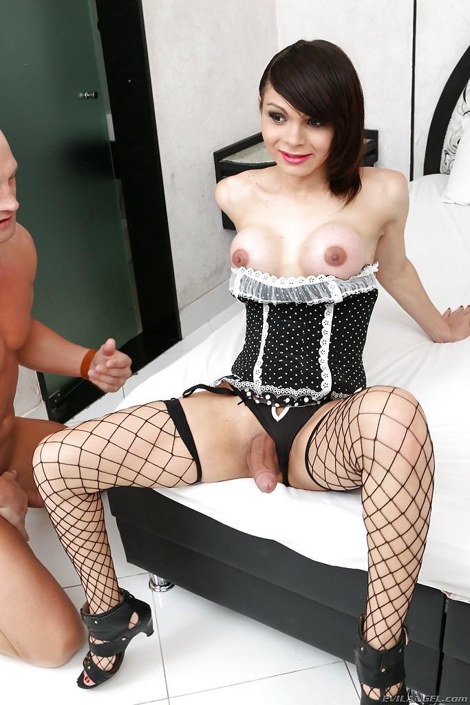 Cute Thai Tgirl Gabriella Andrade Takes BB Ass-Hole Fuck From Christian XXX