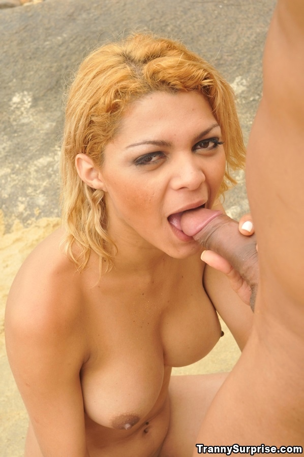 Enormous Tit Latina TGirl Gisele Lemos Spreading Her Flirtatious Legs On A Beach