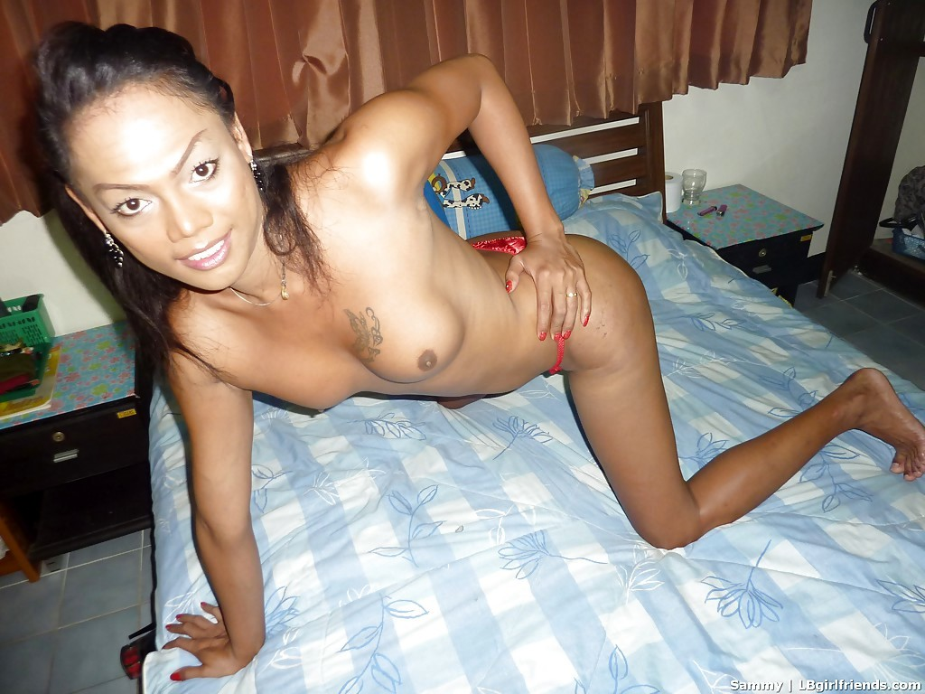 Exotic Tranny Flashing Her Lovely Transsexual Breasts And Wanking Off