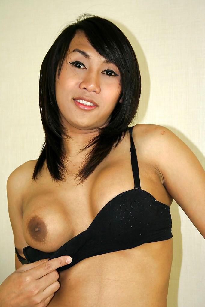 Hairy Asian Tgirl Ning Enjoying A Hardcore Tool Riding Experience