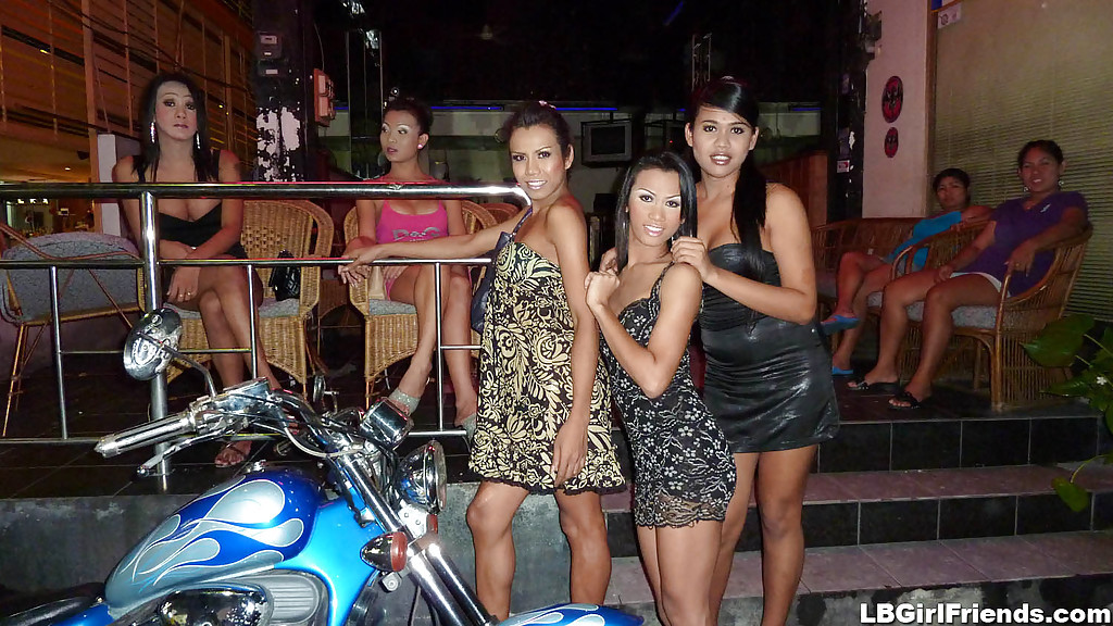 Hungry Thai Femboy Amateurs Posing In High Heels And Dresses