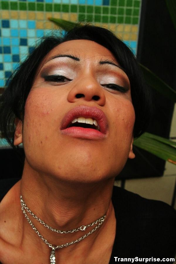 Luscious Latina Femboy Grazieli Bum Banging Passionately In High Heels