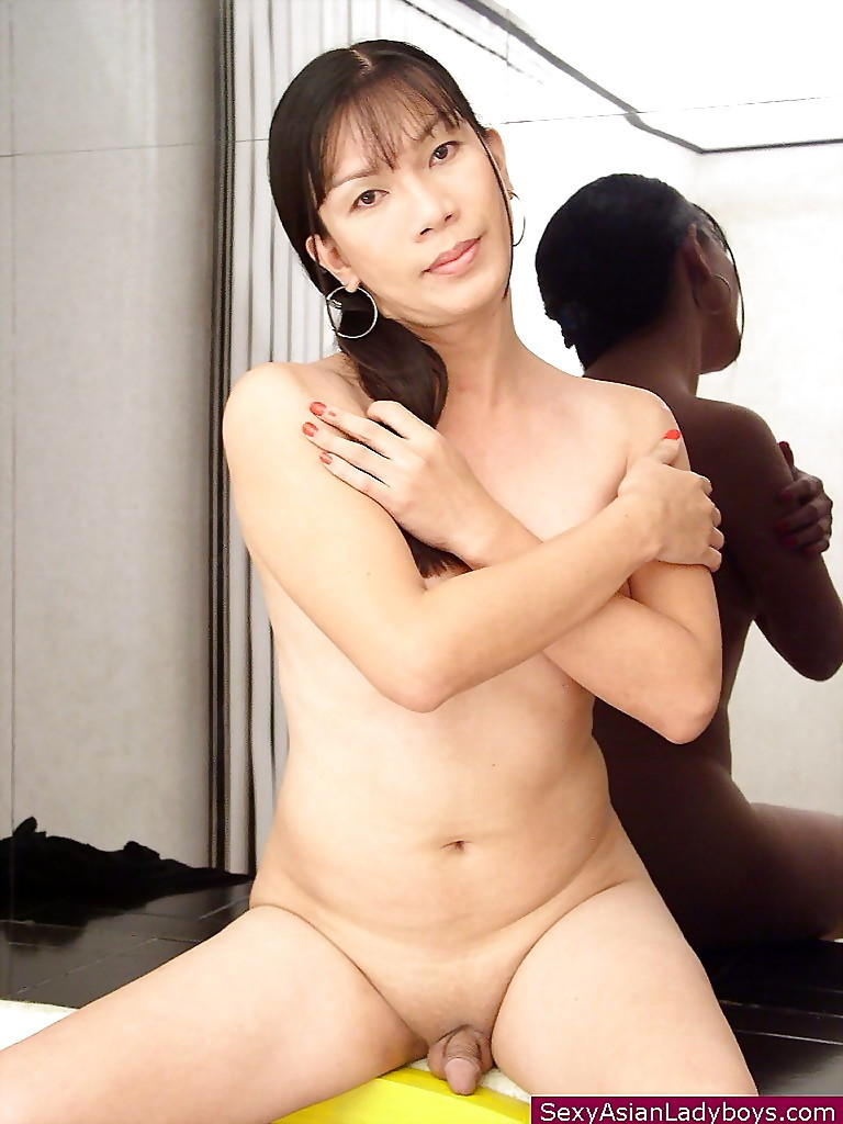 Luscious Thai Tranny Stripping And Showing Of Her Little Shaved Tool