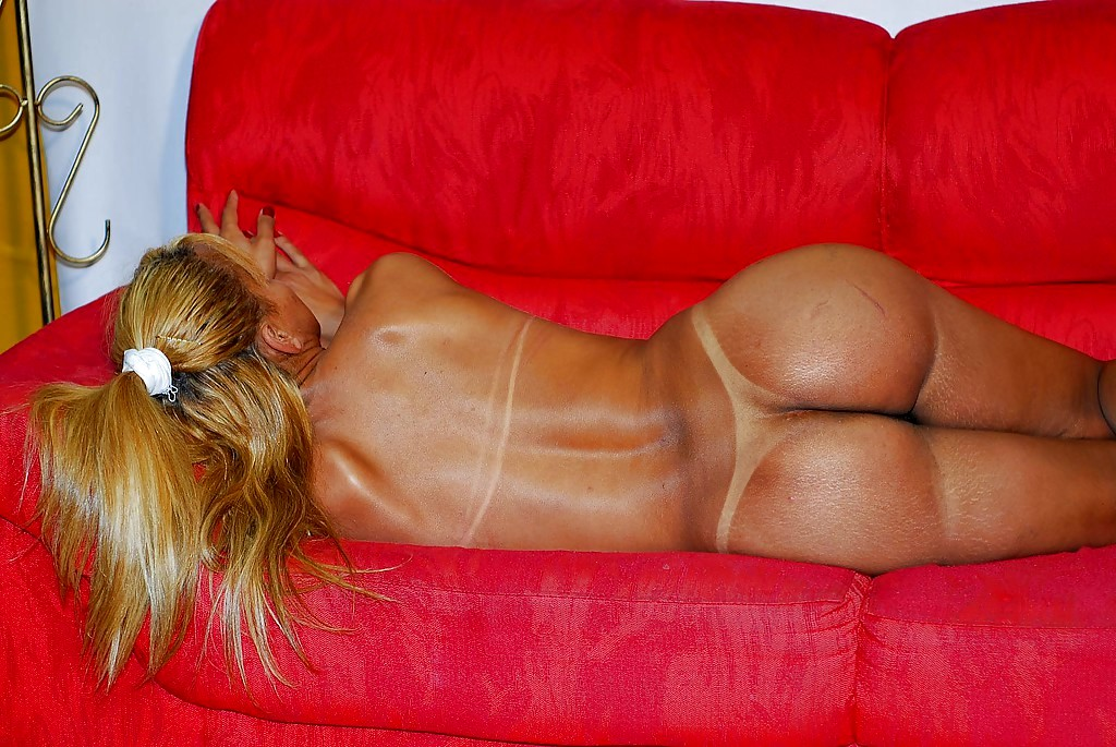Lying On The Couch Latina Ts Jaqueline Exposes Her Big Tasty Asshole