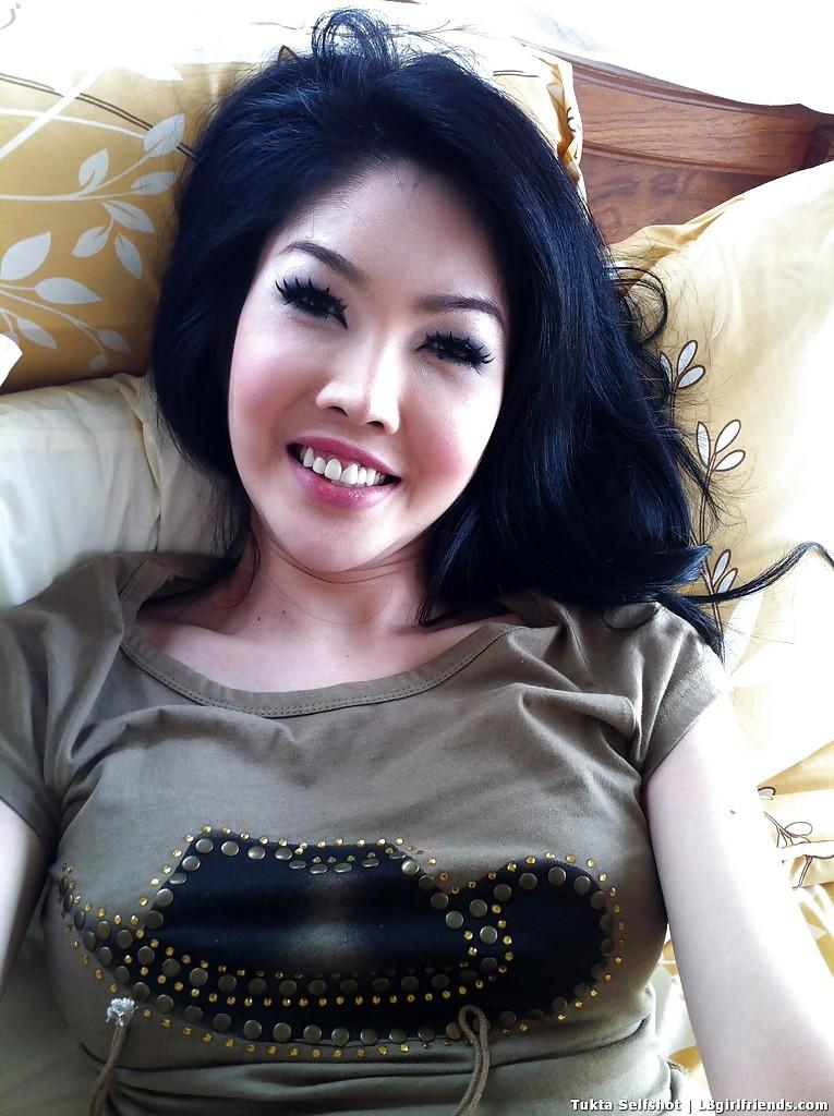 Nice Transexual From Thailand Tukta Jerking Post Op Trans Vagina