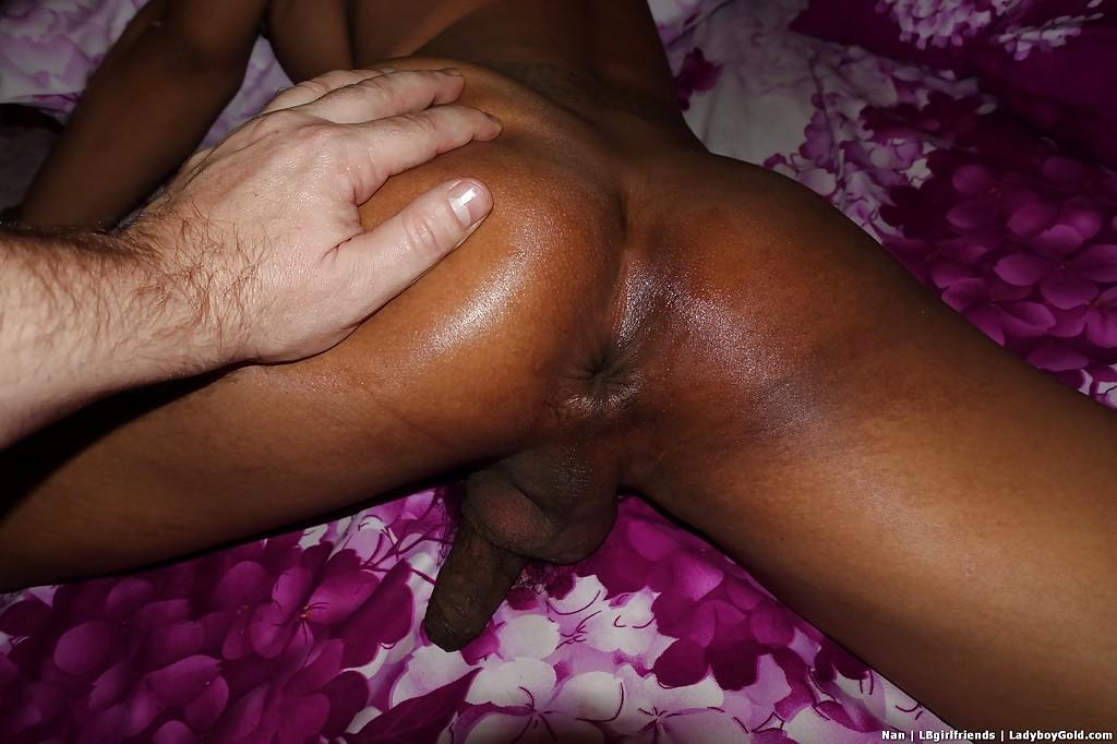 Racy Asian TGirl Nan 4 Taking No Condom Bum Banging From White Penis