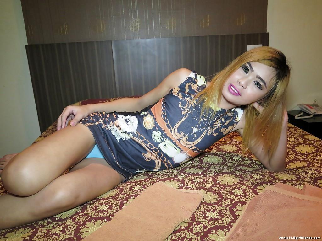 Small Thai Transexual T-Girl Annie 2 Desires BB Bum Fuck Plus Anal Creampie