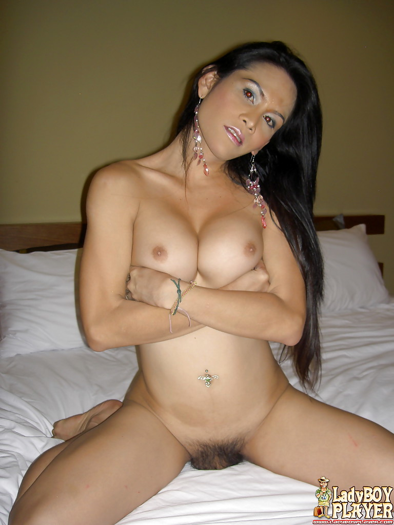 Solo Asian Femboy Sang Exposing Wonderful Massive Breasts And Hairy Shecock