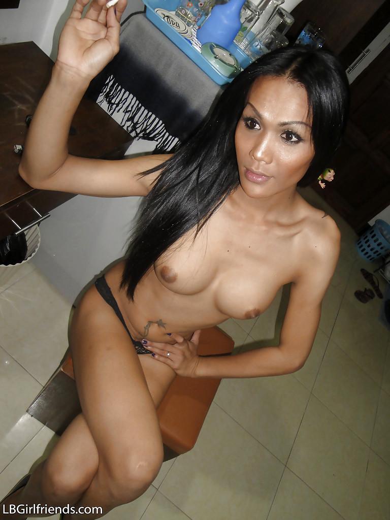 Super Nasty Asian Tgirl Alis Spreading Her Legs In High Heels