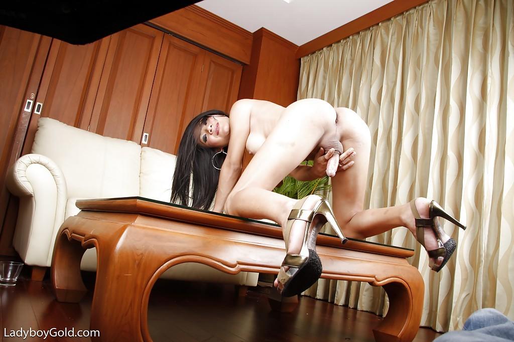 Sweet Young Asian Ladyboy Creem Masturbating Off Her Hung Dick For Cumshot