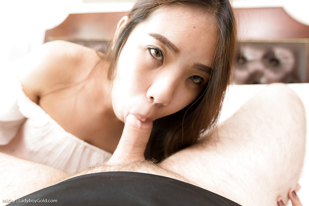 Teen Ladyboy Micky Is A TGirl Gold Who Craves Her Pink Pantyhose