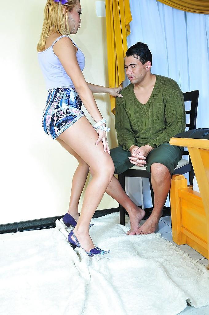 Thai Femboy Erika Bittencourt Asshole Bang's A Dude And Shoots Jizz On Him