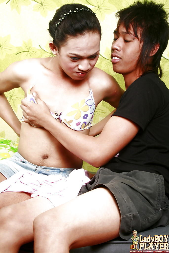 Thai Tgirl On Male Hardcore Sex With Petite Boobed Beauty Marnel