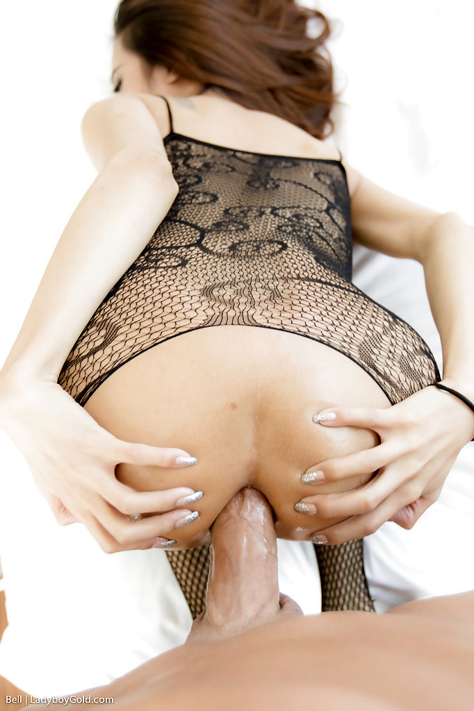 Tinie Tgirl Bell 4 Taking A Huge No Condom Tool In Ass-Hole